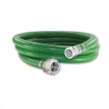 Rental store for 2  GREEN PVC SUCTION HOSE CAMLOCK 25FT in Chesapeake VA